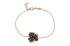 Pave Flower bracelet